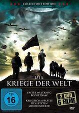 Kriege der Welt Collection 6 Kriegsfilme 2 DVD NEU OVP Edition Action Kriegsfilm