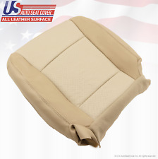 2008 2009 Mercury Mountaineer PASSENGER Bottom LEATHER Seat Cover 2-Tone Tan