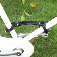 Tourbon Vintage Bike Pack Lifter Bicycle Handle Frame Handle Leather Accessories