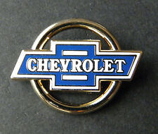CHEVROLET CHEVY ROUND CUTOUT LOGO LAPEL PIN BADGE APPROX 1 INCH