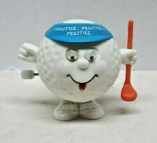 Vintage Russ Wind -Up Plastic Golf Ball Toy