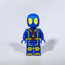 **NEW** MAX BRICK Custom Blue Deadpool Lego Minifigure