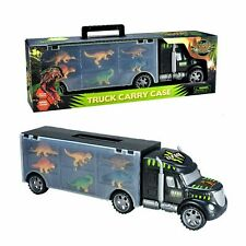 Jurassic Dinosaur Toys Transport Carrier Truck Toy Set with 6 Mini Dinosaurs UK