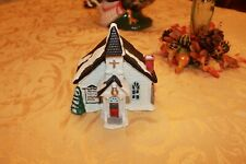 vintage Underwriters Laboratories Inc. Christmas church And Unto Them A Child