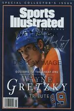 Wayne Gretzky Sports Illustrated Autograph Replica Poster The Great One