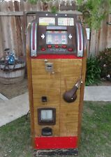 Antique HTF Bally Hi-Boy 5-Cent Console Slot Machine 1946-47 Nice Restoration