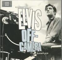 Elvis Presley - Off Camera rare 1997 promotional sampler CD