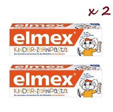 2 x Elmex Kinder-zahnpasta 50ml toothpaste for children. SALE