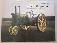 John Deere Green Magazine November 1990 B GP A 80 3010 LOTS More Years Listed