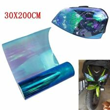 Colorful 200x30cm Car Driving Light Headlight Vinyl Tint Film Sheet Sticker Blue