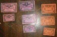 1930 Lot of 8 Store Scrip Coupons Lea and MacPharlane  Murray Harbour PEI Canada