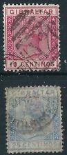Victorian (1840-1901) Postage Gibraltar Stamps