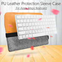 PU Leather Protective Storage Sleeve Case Bag for Apple Magic Keyboard MLA22LL/A