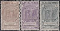 Italy Regno - 1923 Camicie Nere - cv 145$  MH*  n. 147-149