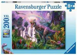 RAVENSBURGER PUZZLE PAYS DES DINOSAURES 200 PIECES XXL 12892