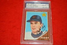 1962 TOPPS GAYLORD PERRY RC #199 PSA/DNA CERTIFIED AUTO GRADE ONLY GEM MINT 10!!