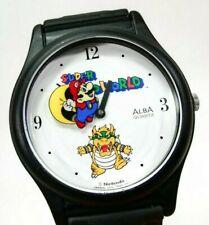 Vintage Super Mario World Watch ALBA - Nintendo Merchandise Japan rare