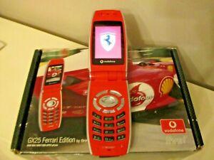 TELEPHONE PORTABLE SHARP GX25 FERRARI EDITION GSM 900/1800/1900 GPRS débloqué
