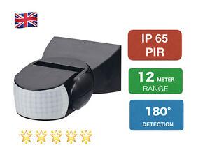Motion Sensor Detector Switch Outdoor NEW IP65 PIR 180 Degree
