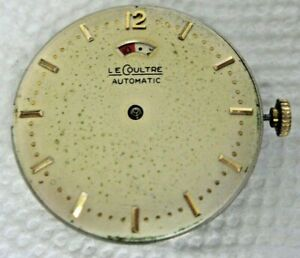 Jaeger Le Coultre Caliber 481 Automatic Movement running