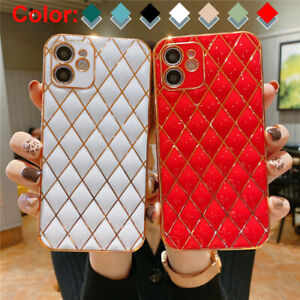 Case For iPhone 13 12 Pro Max 11 XS XR 7 8 Plus Shockproof TPU Plating Cover
