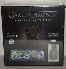 Game of Thrones: Westeros Mini Puzzle (350+ pieces) 4D Cityscape New
