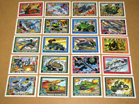 Vintage G.I. Joe Series 1 TRADING CARDS ~ ( FREE SHIPPING ) ~ 20 Card Lot Set