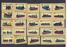 Série étiquettes  allumettes Royaume Uni BN102981 Locomotive anglaise average 38