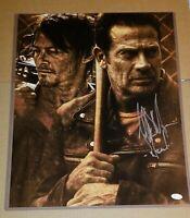 The Walking Dead Jeffrey Dean Morgan (Negan) signed custom photo , Supernatural