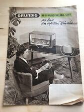 GRUNDIG CATALOGUE - RADIO / HIFI VINTAGE - L19