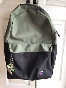 Champion Green Script Backpack Small C RARE Sling Shoulder Fanny