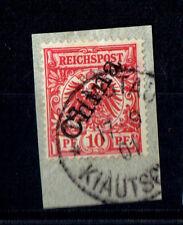 (E2697) Klautschaou Nr. M 3 II b herrlich gestempelt tiefst geprüft   SELTENHEIT