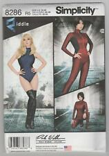 Simplicity Sewing Pattern 8286 Miss Knit & Woven Jumpsuit Leotard Costume 14-22