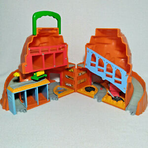 Thomas The Train Playset Take Along Sodor Mining Co Mountain 2002 Sounds Working