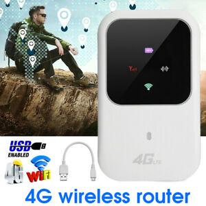 Tragbare Mobiler Wireless 4G LTE WIFI Router WLAN Hotspot Breitband SIM Karten