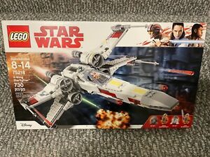 LEGO 75218 Star Wars X-Wing Starfighter *New* *Factory Sealed* *Retired*