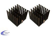 2 Stück Finger Aluminium Kühlkörper 50 x 50 x 45 - LED Peltierelement Kühler