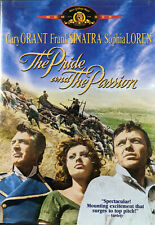 The Pride and the Passion (DVD, 1957) Cary Grant