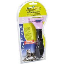 FURminator para pelo corto pequeño Gatos, deShedding Cuidado Herramienta del