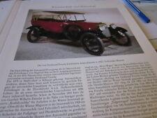 Wien Archiv 5 5069 Austro Daimler 6 1920 Konstrukteur Ferdinand Porsche
