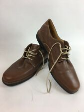 J Alan Payne Tony Soft Leather Casual Oxford Shoes Size 13M Brown Rubber Sole