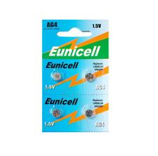 Nuevo 4 X 1.5v Eunicell AG4 Sr LR626 G4 Pilas Alcalinas De Reloj Pila de botón