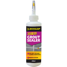 Dunlop Tile Grout Sealer Sealant Waterproof Stain Protection Bathroom Kitchen