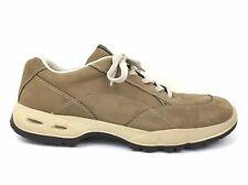 Ecco Mens Brown Nubuck Suede Casual Comfort Sneaker Shoe Size 14 US 48 EU