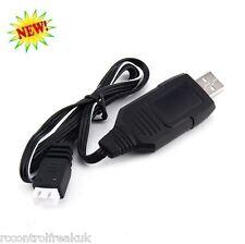 7.4V Batterie Lipo Câble Chargeur USB RC WLtoys V912 V913 V915 V262 V323 V333