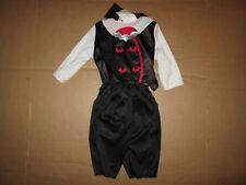 Boys baby infant COUNT DRACULA VAMPIRE Halloween Costume sz 6 - 12 months NWT