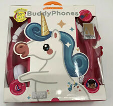 Kids Buddy Phones Explore Safe & Comfy Volume Limiting Headphone Unicorn Gift