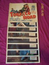 """ TOBACCO ROAD"" orig. 1947 LOBBY CARD SET -  CLASSIC-Gene Tierney/Dana Andrews"
