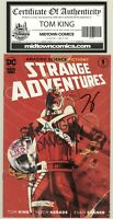 Strange Adventures #1 Gerards COVER * SIGNED by Tom King w/ COA* GEMINI SHIPPING