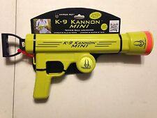 Hyper Pet K9 Kannon Mini Tennis Ball Launcher Cannon Dog Toy Fetch New ak